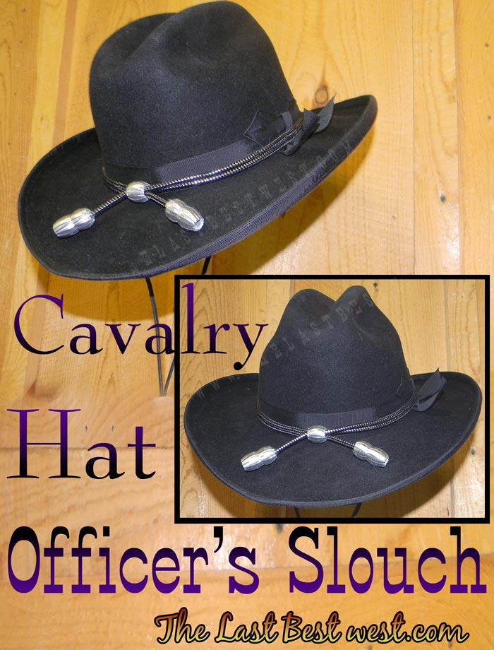 368f9b80 Officer's Slouch Civil War Cavalry Hat