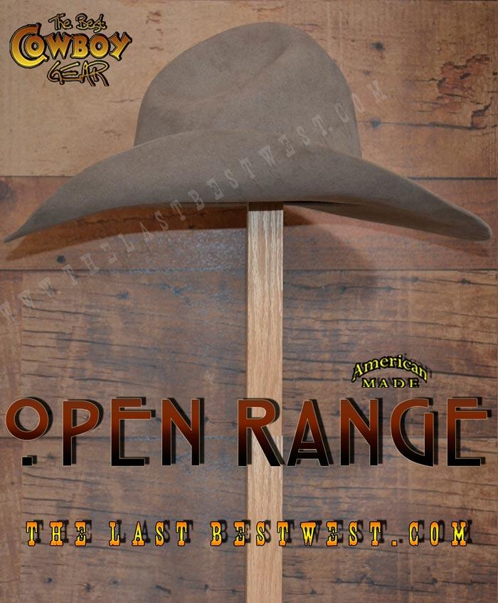 Open Range Cowboy Hat