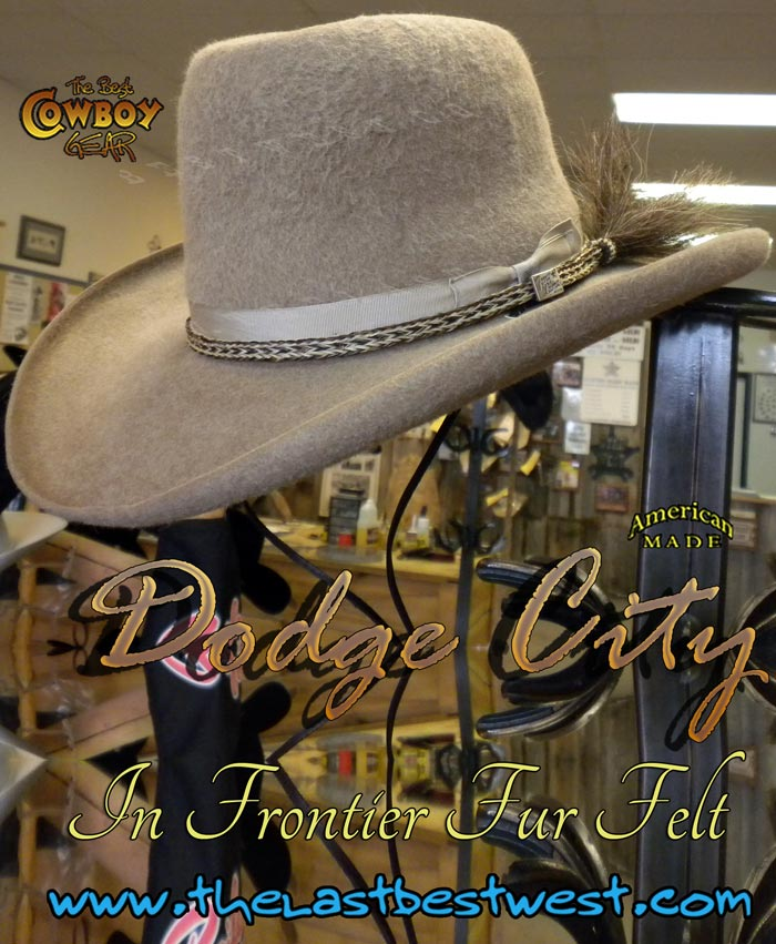Dodge City Cowboy Movie Hat