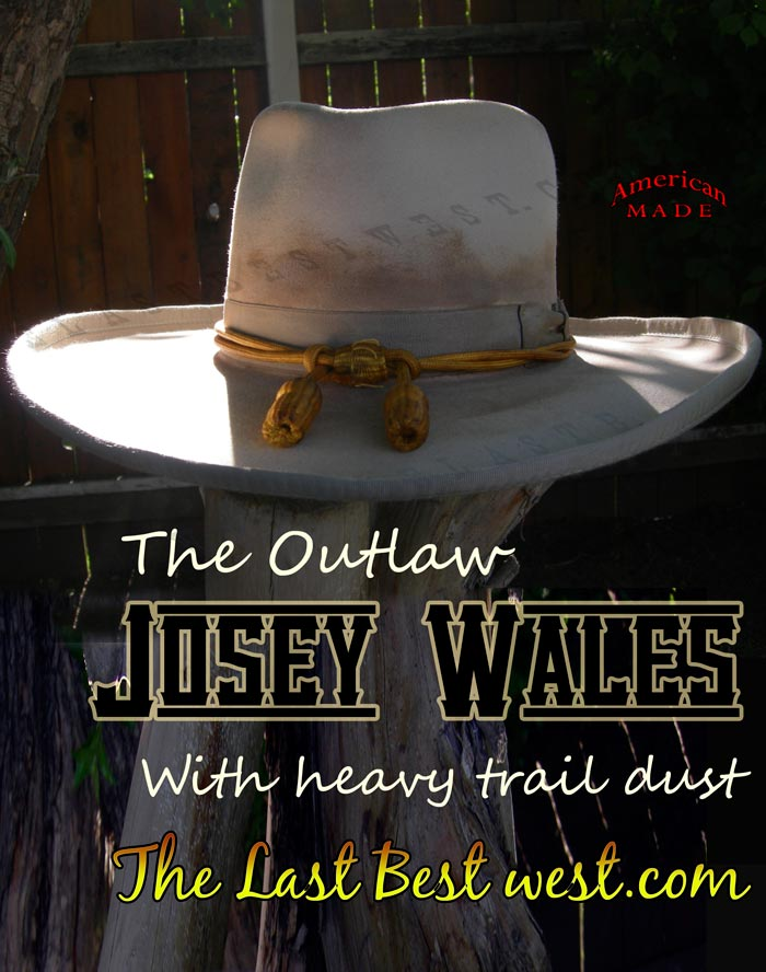 Josey Wales cowboy movie hat