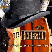 Pinkerton Custom Town Hat