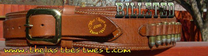 Billeted gun belt gunbelts