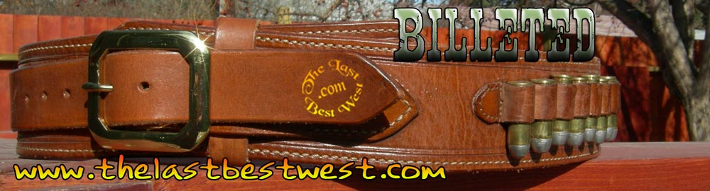 Billeted gun belt