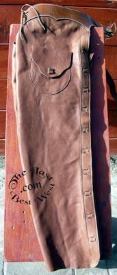 Open Range Handmade Leather Chaps