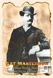 Bat Masterson Poster old west posters