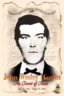 Poster of John Wesley Hardin