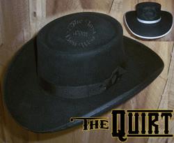 quirt custom cowboy hat