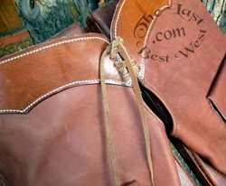 Open Range Handmade Leather Chaps