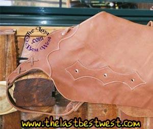Bat-wing Custom Leather Chaps