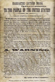 Southern Indiana Vigilance Poster