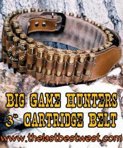 Big Game Hunters Cartridge Belt