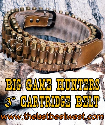 Big Game Hunters Cartridge Belt