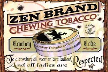 Cowboy Poster Respect