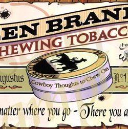 Zen Brand Chewing Tobacco Poster