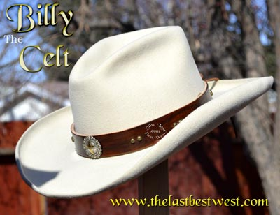 Billy the Celt Custom Hat Band