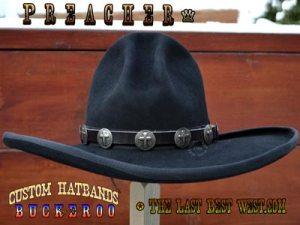 Preacher hat band