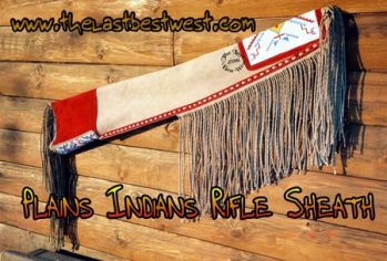 Plains Indians Rifle Sheath