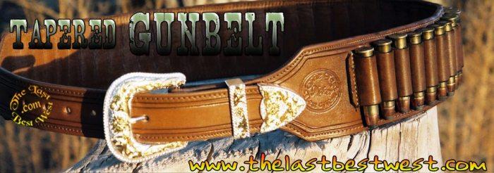 Tapered Gun Belt gunbelts