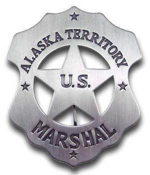 Alaska Territory U.S. Marshal Badge