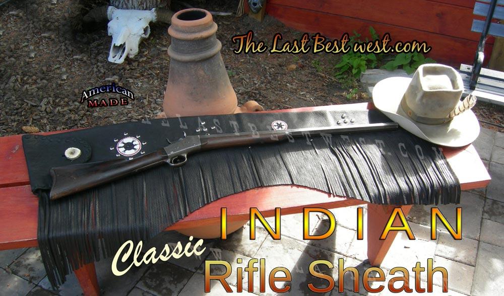 Classic Indian Style Rifle Sheath