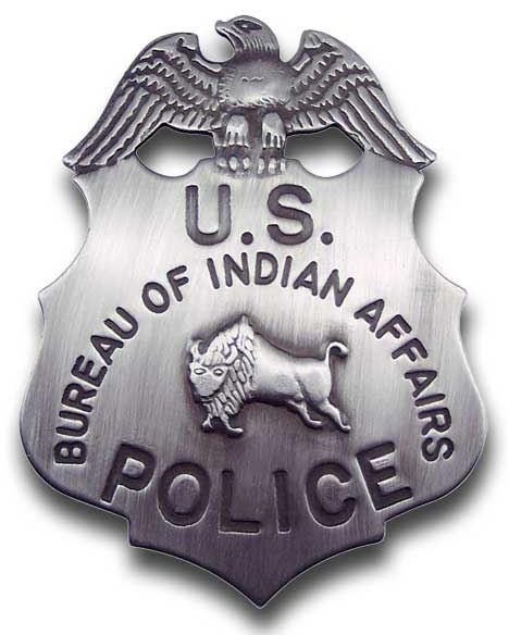 Bureau of Indian Affairs Badge
