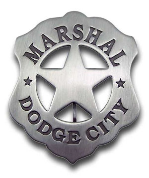 Marshal Dodge City Badge