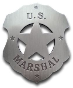 U.S. Marshal (Plain) Badge
