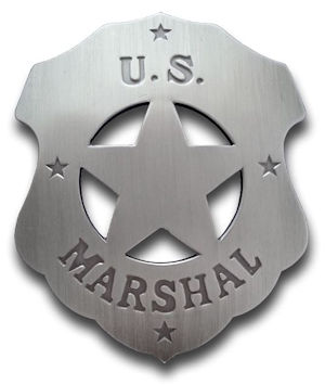 U.S. Marshal (Plain) Badge