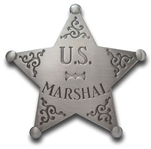 U.S. Marshal - Star Badge