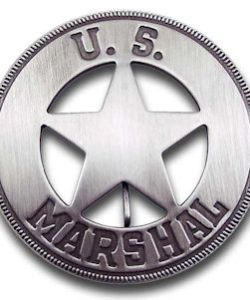 U.S. Marshal - Round Badge