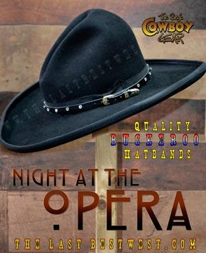Night at the Opera Hatband
