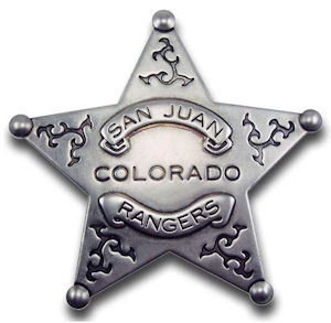 San Juan Colorado Rangers Badge