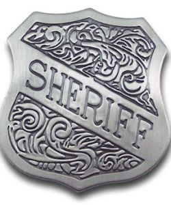 Sheriff Shield Badge