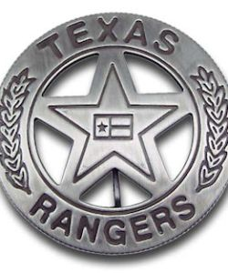 Texas Rangers Company B Badge