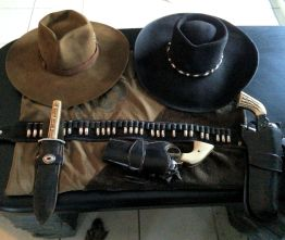 Jens Last Best West Hats and gun leather