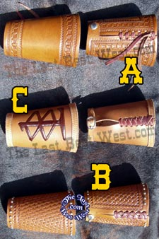 Custom Handmade Leather Wrist Cuffs