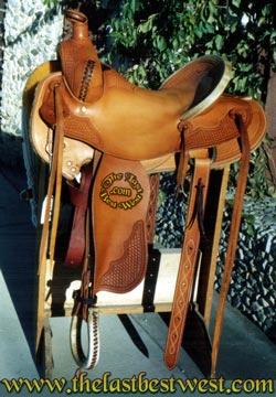 Custom Handmade Working Saddle