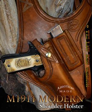 Our popular M1911 Modern Shoulder Holster