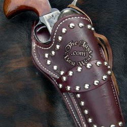 Masterson Studded Leather handmade holster