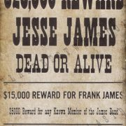 Authentic Wanted Posters Set of 12