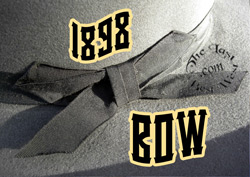 1898 Bow for a Cowboy Hat