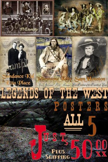 Legends of the West Poster Line
