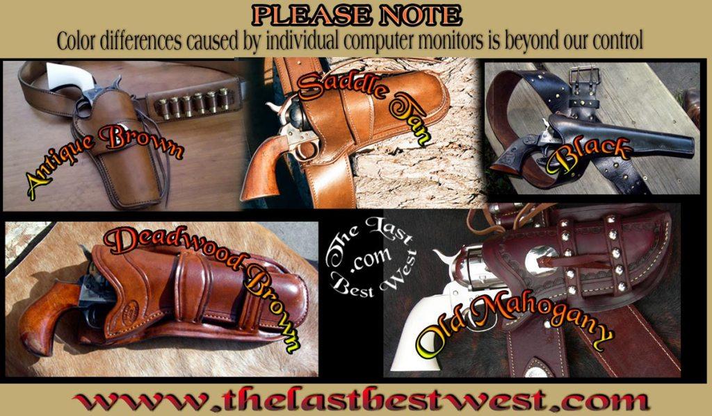 Last Best West Leather Colors