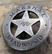 Old West Marshal Badges