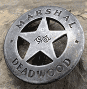 Old West Badge