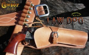 Old West style holsters