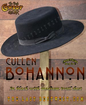 Cullen Bohannon Cowboy Hat