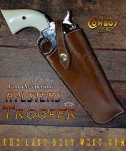Trooper Leather Holster