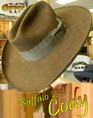 Buffalo Bill Cody Commemorative Hat