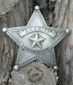 Old West Badges
